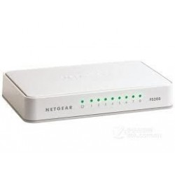 Netgear 8-Port Fast Ethernet Desktop Unmanaged Switch (FS208) FS208-100PES