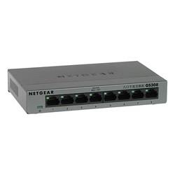 Netgear 8-Port Gigabit Desktop Switch Metal (GS308) GS308-100PES