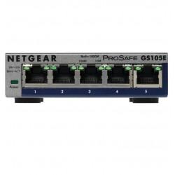 Netgear ProSafe Plus 5-Port Gigabit Desktop Switch Metal (GS105E v2) GS105E-200PES