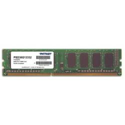Patriot 8GB 1333MHz DDR3 CL9 1.5V DIMM PSD38G13332