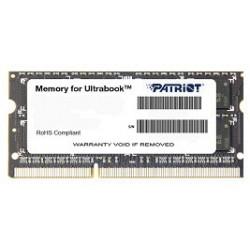Patriot 4GB Ultrabook Line 1600MHz DDR3 CL11 SODIMM, pre Ultrabooky PSD34G1600L81S