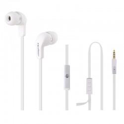Qoltec Stereo slúchadlá s mikrofónom do uší (štuple), ovládanie,...