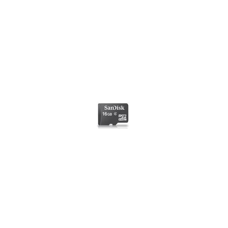 SanDisk microSDHC karta 16GB + adaptér SDSDQM-016G-B35A