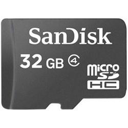 SanDisk microSDHC karta 32GB + adaptér SDSDQB-032G-B35