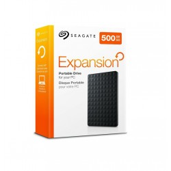 Seagate Expansion Portable - externý HDD 2.5' 500GB, USB 3.0, čierny STEA500400