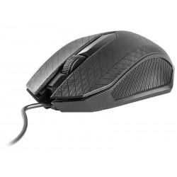 Tracer Click optická myš, 1000 DPI, USB, čierna TRAMYS44875