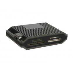 Tracer CH3 čítačka kariet All-In-One + HUB USB 2.0 (3 porty), čierna TRAPOD44149