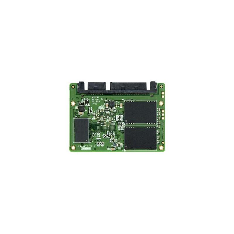 Transcend 32GB SSD Half-Slim SATA3 (čítanie / zápis; 260MB/s; 40MB/s) TS32GHSD370