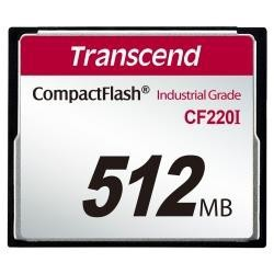 Memory card Transcend Industrial CF CF220I 512MB TS512MCF220I