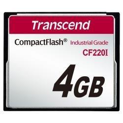 Memory card Transcend Industrial CF 4GB (UDMA5) TS4GCF220I