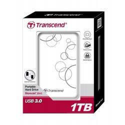 Transcend StoreJet 25A3 1TB USB 2.0/3.0 2,5' HDD antishock / fast backup TS1TSJ25A3W