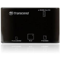 Transcend externá čítačka pamaťových kariet, USB 2.0, čierna TS-RDP8K