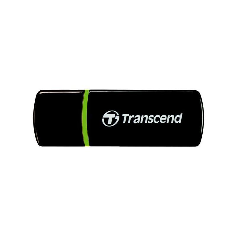 Transcend externá čítačka pamaťových kariet, USB 2.0, čierna TS-RDP5K
