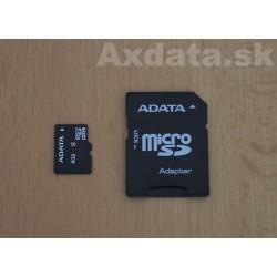 Pamäťová karta 4 GB microSDHC Class 4 s adaptérom