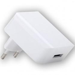 Gembird univerzálna USB nabíjačka EG-UC2A-01-W