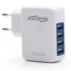 GEMBIRD Univerzálna USB nabíjačka EG-U4AC-01