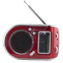Esperanza ERB101R PARROT prenosný rádiobudík, červený ERB101R - 5901299908099