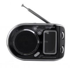 Esperanza ERB101K PARROT prenosný rádiobudík, čierny ERB101K - 5901299908082