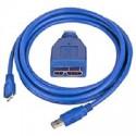 KABEL USB 3.0 Micro 3m prepojovací CCP-mUSB3-AMBM-10