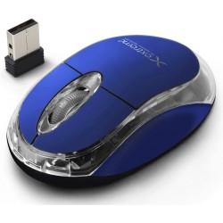 Esperanza Extreme XM105B HARRIER Bezdrôtová optická myš, 2.4GHz, 1000 DPI, modrá - 5901299926154