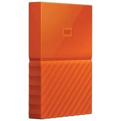 External HDD WD My Passport 2.5' 1TB USB 3.0 Orange WDBYNN0010BOR-WESN