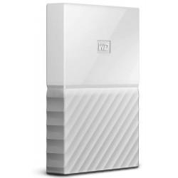 External HDD WD My Passport 2.5' 1TB USB 3.0 White WDBYNN0010BWT-WESN