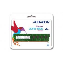 ADATA DDR3 4GB 1600MHz 11CL, 1,5V AD3U1600W4G11-S