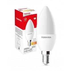 LED Lamp TOSHIBA Candle | 25W 2700K 80Ra ND E14 00501315132A