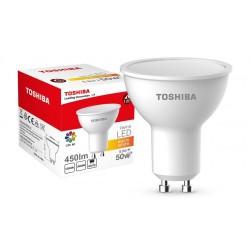 LED Lamp TOSHIBA PAR16 | 50W+ 3000K 80Ra ND 120D GU10 00601315134A