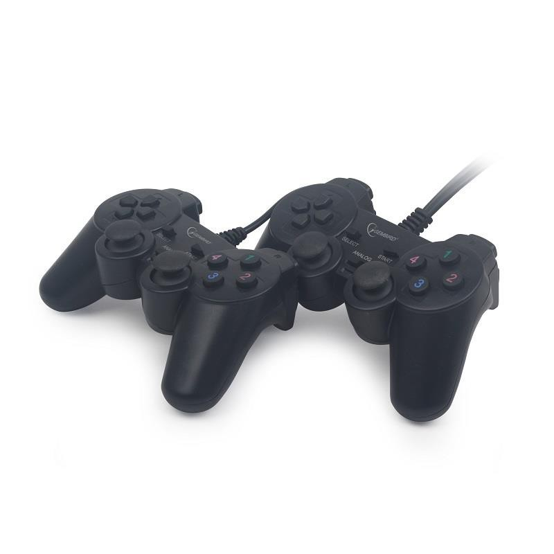 Gembird Double PC USB dual vibration gamepad JPD-UDV2-01