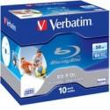 BD-R DL 50GB 6x Wide Printable JC 43736