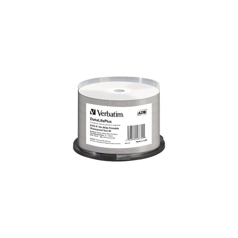 DVD - R Verbatim 4.7GB 16x CAKE 50pcs 43734P
