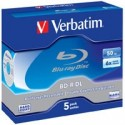 Verbatim BD-R DL 50GB 6x 5 Pack JC 43748 43748P