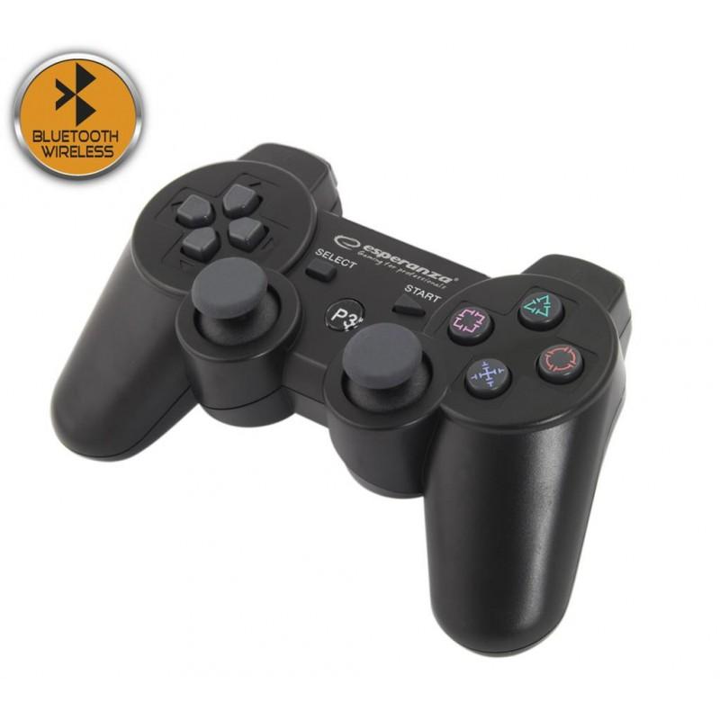 ESPERANZA EGG109K MARINE-BLUETOOTH bezdrôtový gamepad s vibráciami pre PS3, č EGG109K - 5901299947296