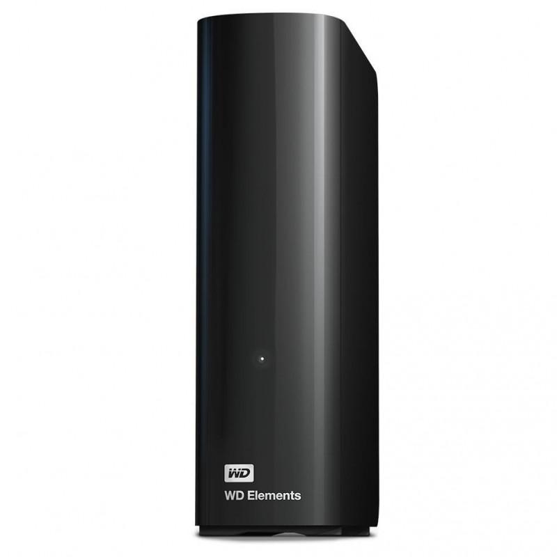 External HDD WD Elements Desktop 3.5' 6TB USB3, Black WDBWLG0060HBK-EESN