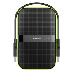 External HDD Silicon Power Armor A60 2.5' 500GB USB 3.0, IPX4, Black SP500GBPHDA60S3K