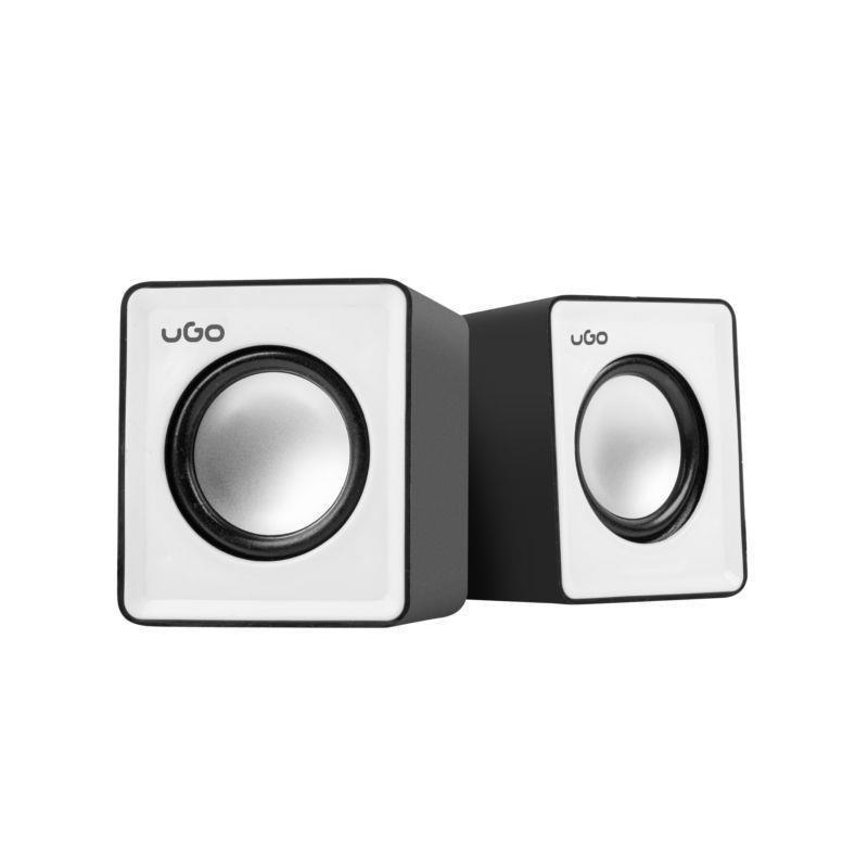 Natec UGO speakers 2.0, office, 2x3W, USB UGL-1016