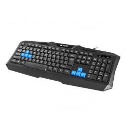 Fury Gaming Keyboard TYPHOON USB, US layout, Black NFU-0866