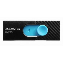 Adata Flash Drive UV220, 8GB, USB 3.0, black and blue AUV220-8G-RBKBL