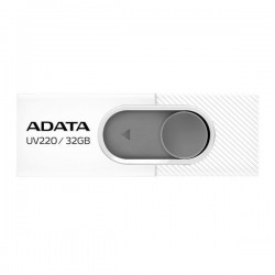 Adata Flash Drive UV220, 32GB, USB 3.0, white and grey AUV220-32G-RWHGY
