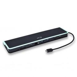 i-tec USB C Flat dokovacia stanica HDMI 4K USB C 3.1 /3.0 Ethernet Power Deliver C31FLATDOCKPD