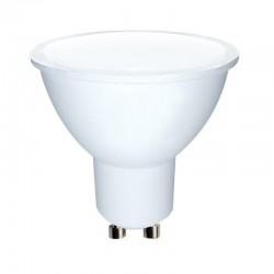 Whitenergy LED žiarovka | GU10 | 10 SMD 2835 | 5W | 230V| mlieko | MR16 10364