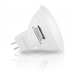 Whitenergy LED žiarovka | GU5.3 | 8 SMD 2835 | 7W | 230V| mlieko | MR16 10368