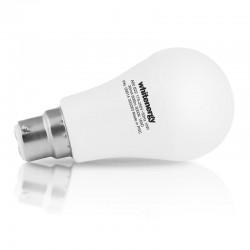 Whitenergy LED žiarovka | B22 | 11 SMD2835 | 10W | 175-250V tepla biela | A60 09914