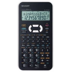 Kalkulačka Sharp EL-531XH WH biela
