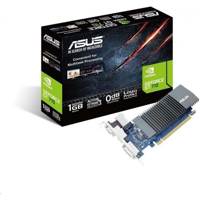 ASUS GeForce GT 710, 1 GB GDDR5 , DVI / HDMI GT710-SL-1GD5