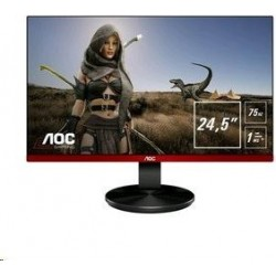 Monitor AOC Gaming G2590VXQ TN 25inch FullHD, 1ms, 75Hz, VGA/HDMI/DP