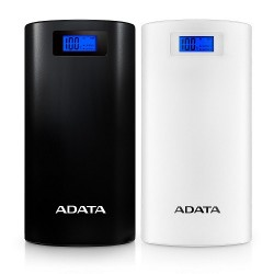 A-DATA Power Bank P20000D, 20000mAh, biely AP20000D-DGT-5V-CWH