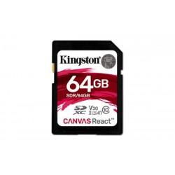 64 GB SDXC karta Kingston Class 10 UHS-I U3 V30 A1 ( r100MB/s, w80MB/s ) SDR/64GB