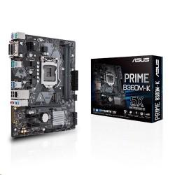 ASUS PRIME B360M-K soc.1151 B360 DDR4 mATX M.2 DVI VGA 90MB0WR0-M0EAY0